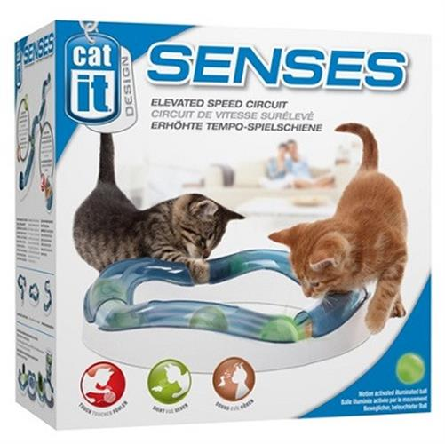 משחק זירה סגור Senses Cat it