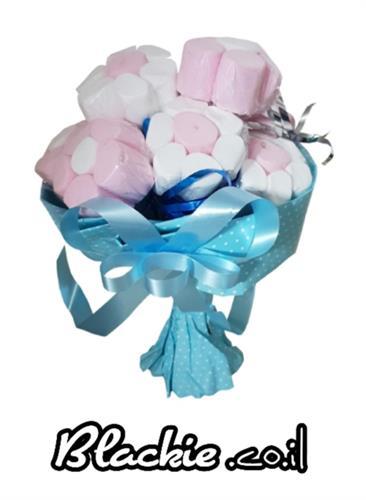זר פרחים מרשמלו 🍡