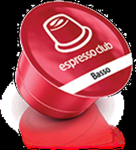 100 קפסולות קפה אספרסו קלאב באסו / Espresso Club Basso