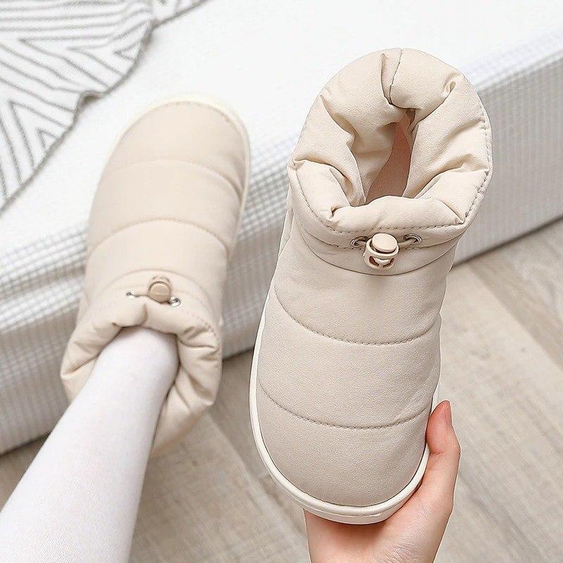 מגפי נשים מבד פוף