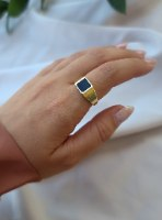 טבעת זהב בלאק