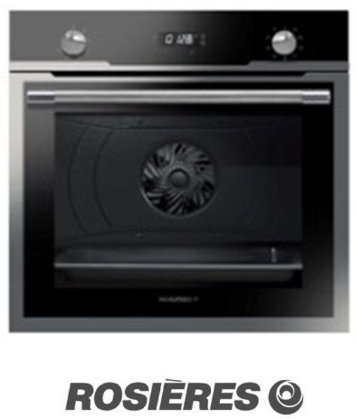 """ROSIERES תנור בנוי BI רחב 60 ס""""מ דגם RFZ3185INE"""