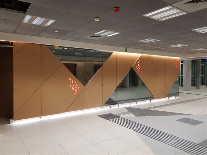 מראה מעוצבת בית חולים ברזילי
