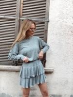 חצאית סריג YORK