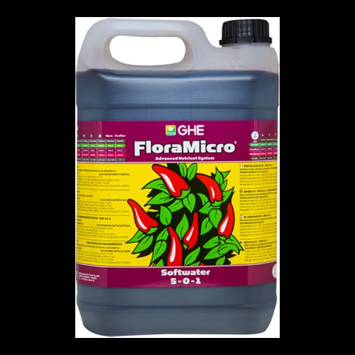 פלורה מיקרו מים רכים 5 ליטר Flora Micro Soft Water