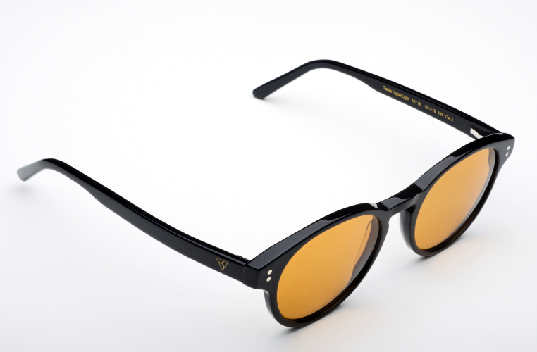 משקפי היפרלייט (נגד קרינה) דגם TLW- 107BL מסגרת שחורה