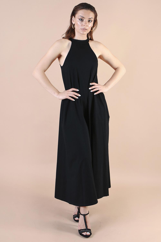 שמלת קים שחורה