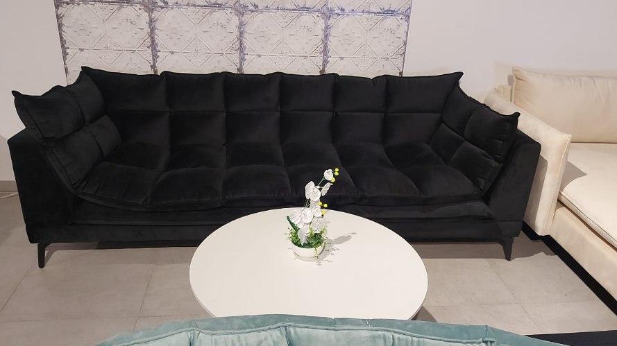ספה וופל סיאלו שחור