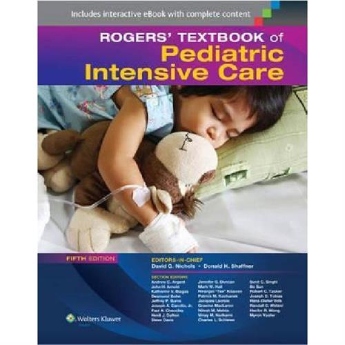 Roger's Textbook of Pediatric Intensive Care