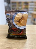 חטיף אורגני אפוי מתפוחי אדמה בתוספת פפריקה