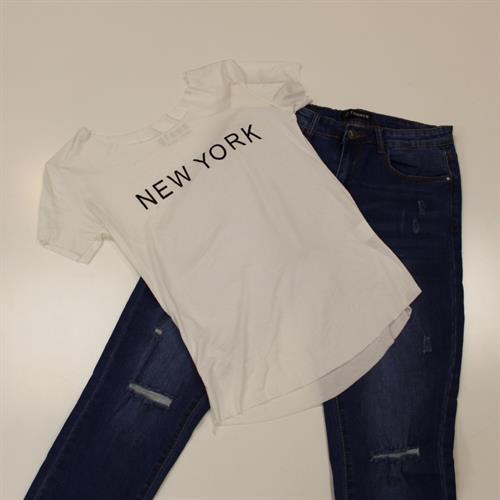 חולצה דפוס N.Y