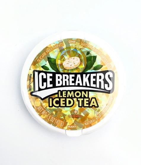 Ice Breakers סוכריות מרעננות בטעם אייס טי לימון
