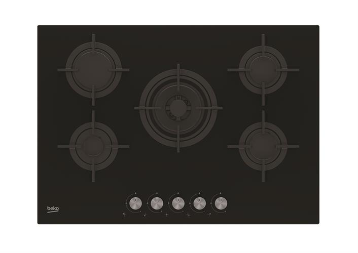 beko כיריים גז 75 סמ  דגם: HILW75220S