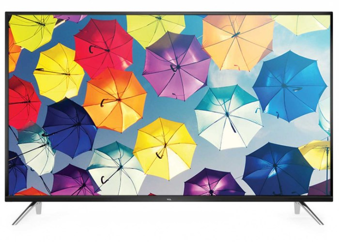 "טלוויזיה TCL חכמה ""49 HD Android TV 8 שיקוף מלא 49S6500"