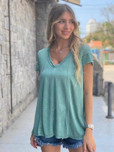 חולצת אמילי ירוק THOMAS