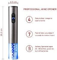 שט פותחן יין חשמלי