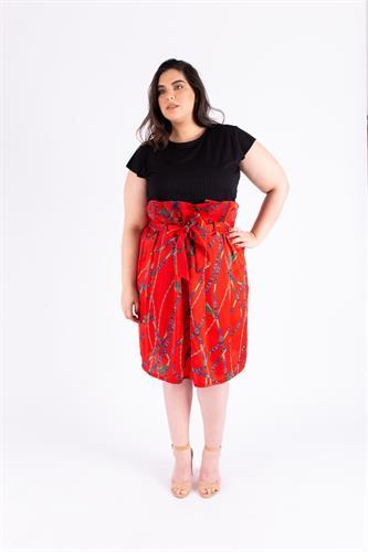 חצאית אודט אדום