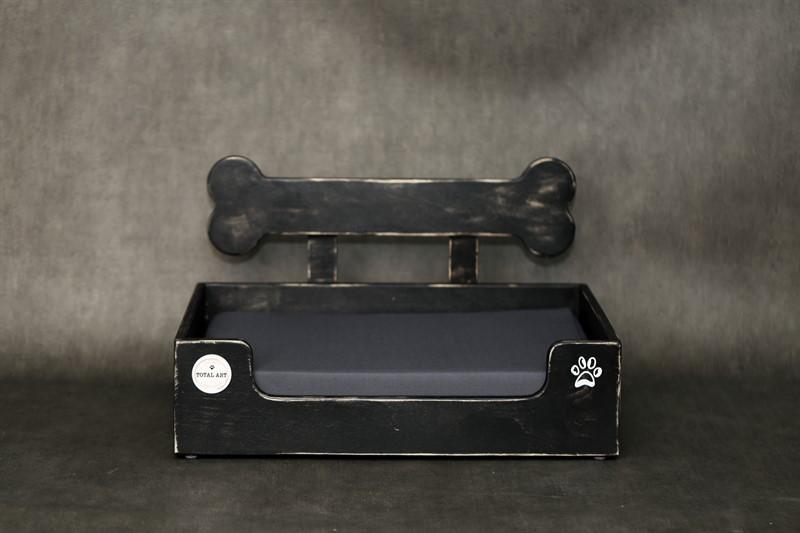 מיטה לכלב- בונזי S שחור ווש