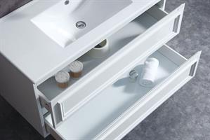 ארון אמבטיה תלוי בעיצוב נקי דגם מיאמי MIAMI