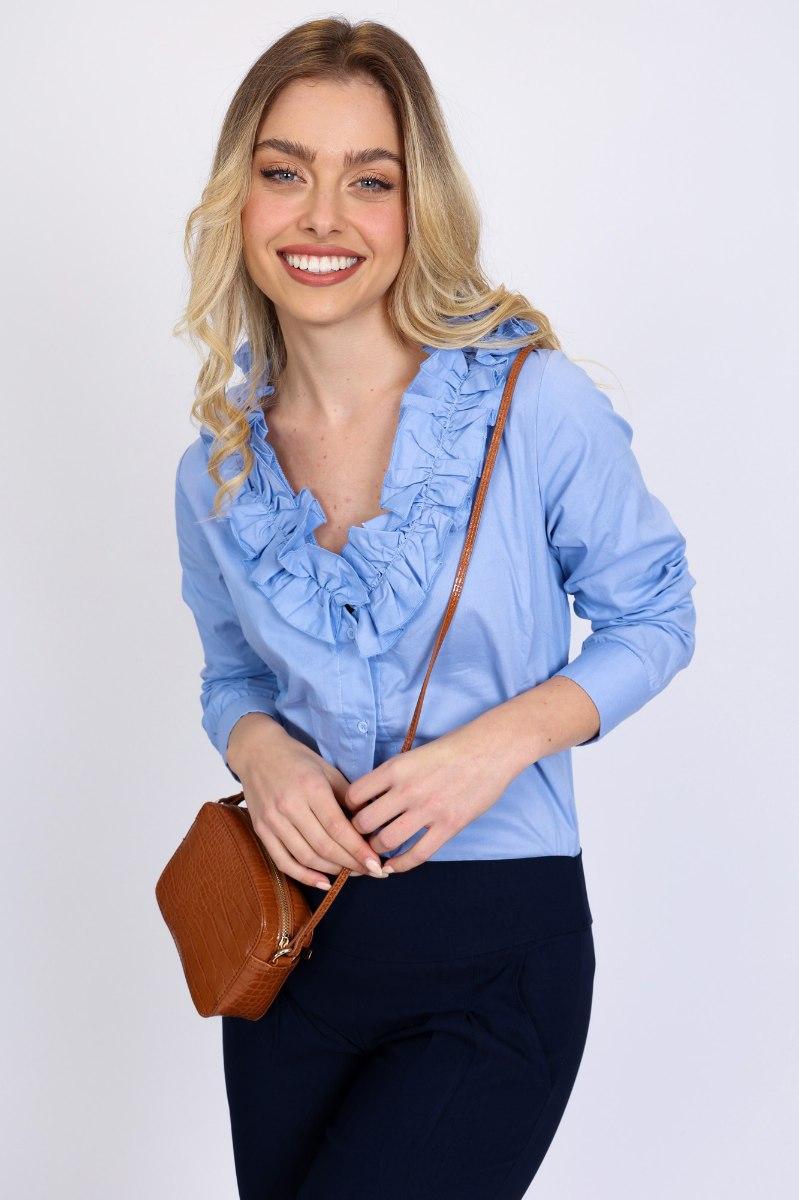 חולצת וולן גלורי תכלת/כחול