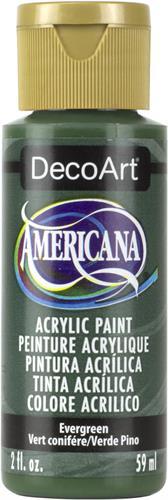 """צבע אמריקנה 59 מ""""ל Evergreen DAO82"""