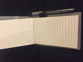 פנקס העצמה אישי מהודר בשק אורגנזה+עט