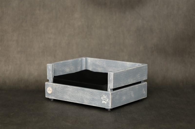 מיטה לחתול- דינגו XS אפור בטון