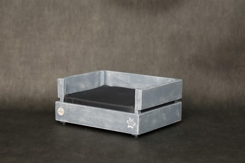מיטה לכלב- דינגו S אפור בטון