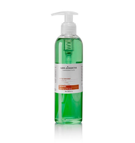 """חווה זיגבוים- סבון לעור עדין 250 מ""""ל"""