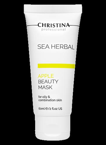 Christina Sea Herbal Beauty Mask Green Apple-כריסטינה מסכת יופי תפוח ירוק לעור שמן מעורב