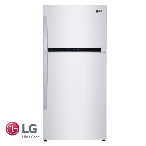 LG מקרר מקפיא עליון 563 ליטר דגם: GR-M6880W לבן מתצוגה !