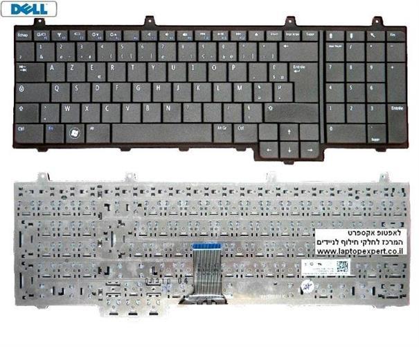 החלפת מקלדת למחשב נייד דל Dell Inspiron 1747 1750 Laptop Keyboard 0TW6MF / NSK-DN001