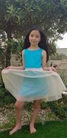 שמלת פונץ- טורקיז