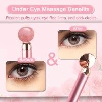 מכשיר עיסוי חשמלי לעיניים ולמיצוק העור