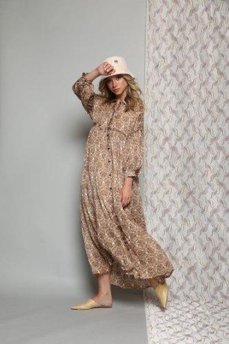 שמלת שיפון דולצ'ה NEW