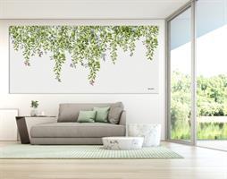 תמונה ירוקה בסלון