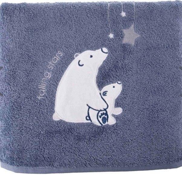 מגבת רחצה לילדים הדב הלבן מבית ורדינון