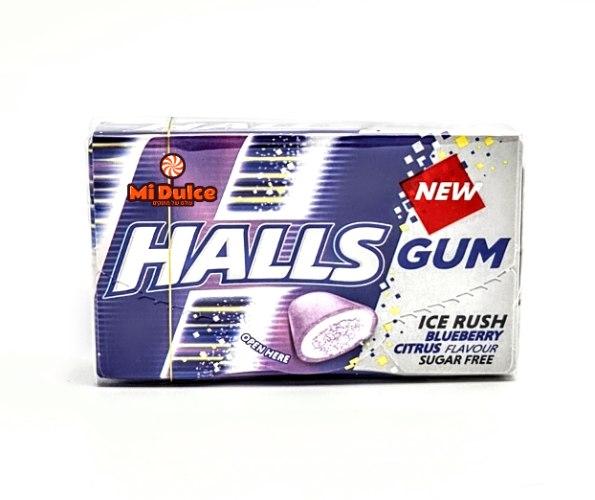 Halls Gum בטעם אוכמניות