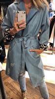 מעיל ג'ינס