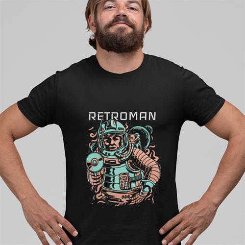 חולצת טי - Retroman