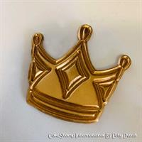 One 1 small crown - Chocolate mold