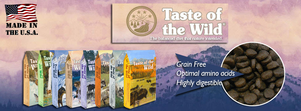 Taste Of The Wild טייסט אוף דה ווילד