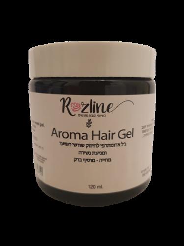 ג'ל ארומתרפי טבעי לחיזוק שורשי השיער ומניעת נשירת שיער