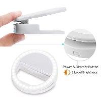 טבעת תאורה LED סלפי לנייד – S.LED