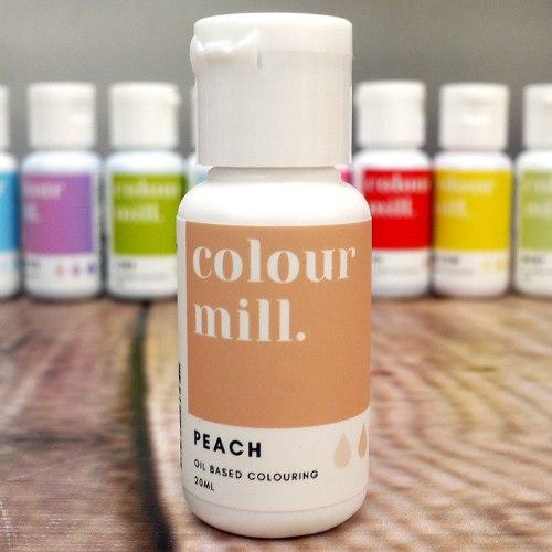 צבע אפרסק PEACH| קולור מיל | יבוא אתי דבש | צבע על בסיס שמן | כשר חדש אתי דבש
