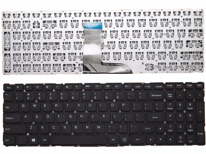 החלפת מקלדת בעברית למחשב נייד לנובו Lenovo IdeaPad yoga 700-15ISK Black , NO Frame Laptop Keyboard