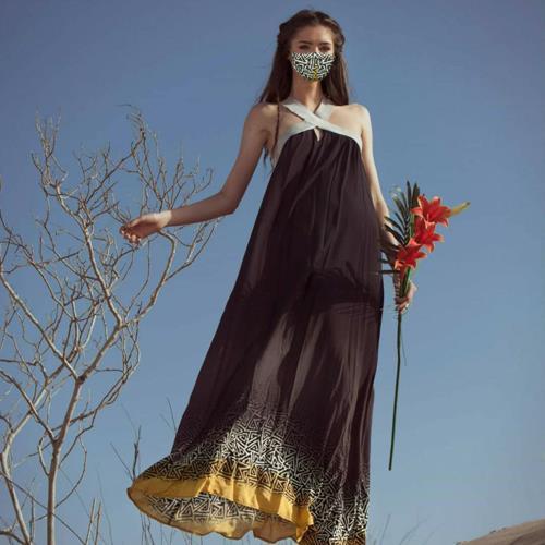 שמלת הלקוניה + מסכת ETHNIC מתנה