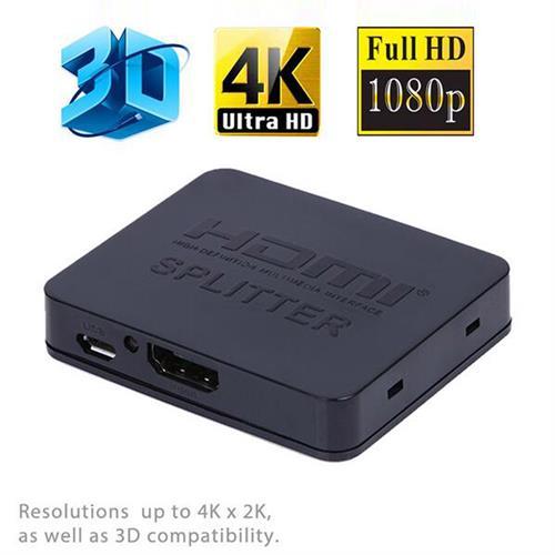 מפצל HDMI לחיבור 2 מסכים    SPLITTER