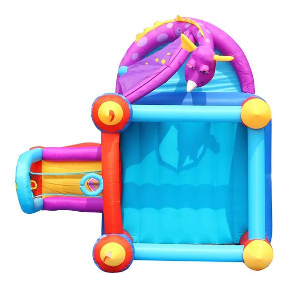 מתקן קפיצה טירת הדרקון הפי הופ - Happy Hop Fancy Dragon And His Air Castle - 9022