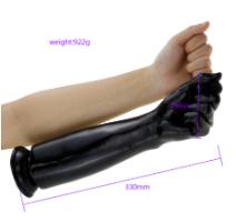 יד ענקית לפיסט בצבע שחור